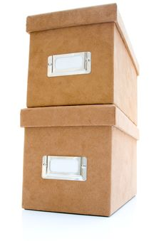 Free Suede Box Stock Photography - 6348692