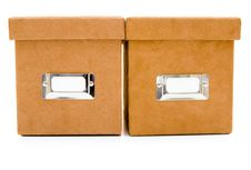 Free Suede Box Stock Photography - 6348742