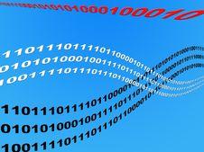 Free Wave Binary Data Stock Photos - 6348753