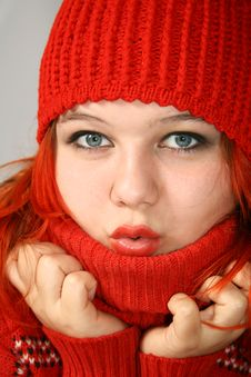 Free I Can T Stand The Cold! Stock Image - 6349151