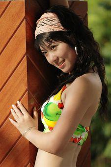 Free Bikini  Girl Royalty Free Stock Photos - 6349538