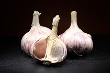 Free Garlic Vegetables Stock Image - 6349551