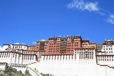 Free Tibet S Potala Palace In Lhasa Stock Photography - 6349602
