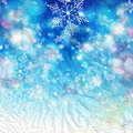 Free Winter Background With Snowflakes Stock Image - 63434741