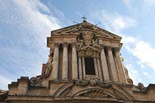 Basilica, Church, Temple Against The Sky Stock Photography