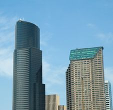Free Seattle Office Towers Stock Photos - 6350433