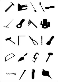 Free Bulding And Hand Tools Stock Photos - 6350503