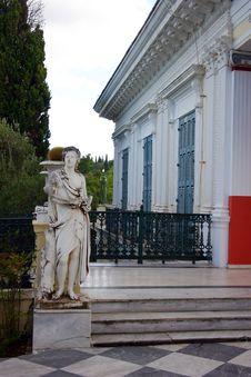 Achilleon Palace Royalty Free Stock Image