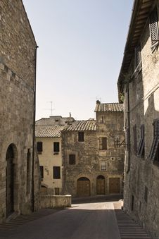 St Gimignano Royalty Free Stock Photography