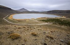 Free Lake In The Crater Of A Volcano Stock Images - 6350894