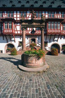Old Market Square - Hanau Stock Photos
