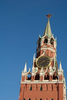 Free Kremlin In Moscow, Russia Royalty Free Stock Images - 6351679