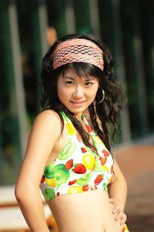 Free Bikini  Girl Royalty Free Stock Photos - 6351798