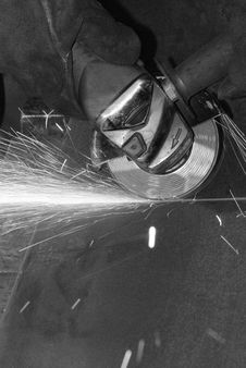 Free Welder At Work. Royalty Free Stock Image - 6353386