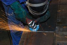 Free Welder At Work. Stock Photos - 6353413