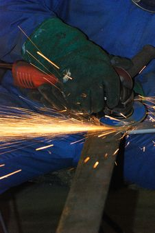 Free Welder At Work. Stock Image - 6353441
