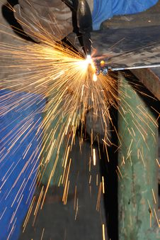 Free Welder At Work. Royalty Free Stock Photo - 6353495