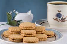Free Cookies And Cofee Royalty Free Stock Image - 6353526