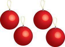 Free Christmas Balls Stock Image - 6353861