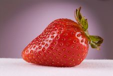Free Strawberry Closeup Royalty Free Stock Image - 6353986