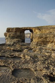 Free Malta Azure Window Royalty Free Stock Photo - 6354545