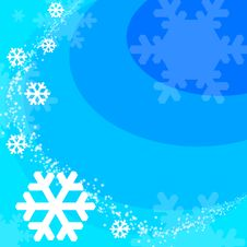 Free Winter Background Royalty Free Stock Photography - 6354857
