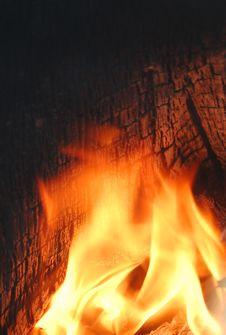 Free Burning Wood Stock Photos - 6356423