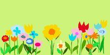 Free Lime Color Garden Illustration Stock Photos - 6357033