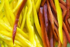 Free Pepper Strips Stock Photos - 6357203