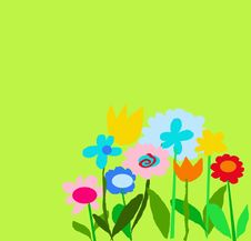 Free Green Color Garden Royalty Free Stock Photography - 6357247