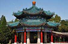 Free Pavilion With Glaze Tile Stock Photo - 6357500