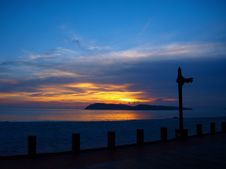 Free Sunset Langkawi Beach Two Stock Photography - 6357612