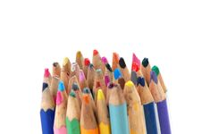 Free Color Pencils Stock Image - 6357861
