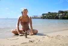Free BeachGirl Stock Photography - 6358032