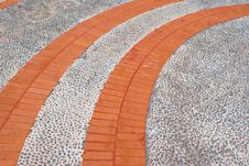 Walkway Pattern Royalty Free Stock Images