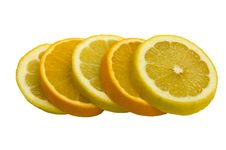 Free Orange And Lemon Royalty Free Stock Images - 6358669