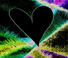 Free Black Heart Stock Photos - 6358973