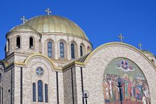 Free Ukrainian Church In Chicago Stock Images - 6359284