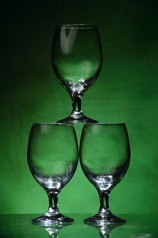 Free Glass Triplets Stock Image - 6359461