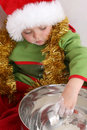 Free Baking Christmas Cookies Royalty Free Stock Images - 6364039
