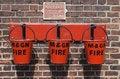 Free Three Fire Buckets Royalty Free Stock Photo - 6365405