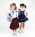 Free Cute School Girls Stock Photos - 6365423