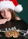 Free Christmas Hat Royalty Free Stock Photos - 6368938