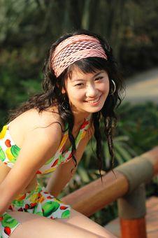 Free Asian  Girl Royalty Free Stock Image - 6360266