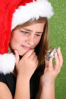 Free Christmas Teen Royalty Free Stock Photos - 6360588