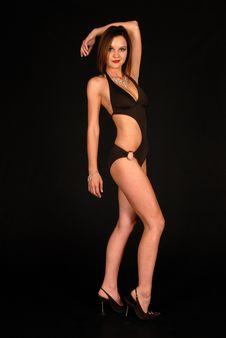 Free Swim Suit Model Photo Shoot Royalty Free Stock Photography - 6360777