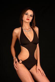 Free Swim Suit Model Photo Shoot Royalty Free Stock Photo - 6360825