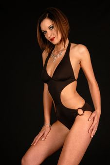 Free Swim Suit Model Photo Shoot Royalty Free Stock Photography - 6360837