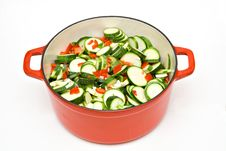 Free Home Cooking Vegetables Stock Image - 6361081