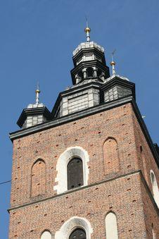 Free Mariacki Church, Poland Royalty Free Stock Photo - 6361295